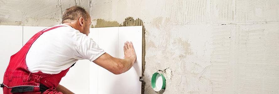 badkamer renovatie betegelen