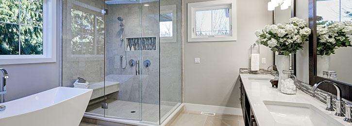 moderne badkamer Landen