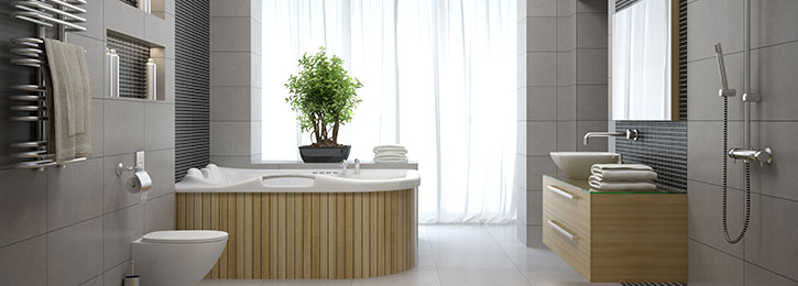 nieuwe badkamer Landen